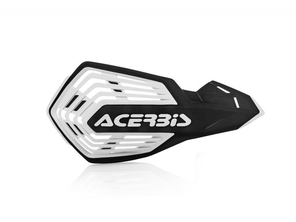 Kryty páček Acerbis X-FUTURE VENTED bílo-černé