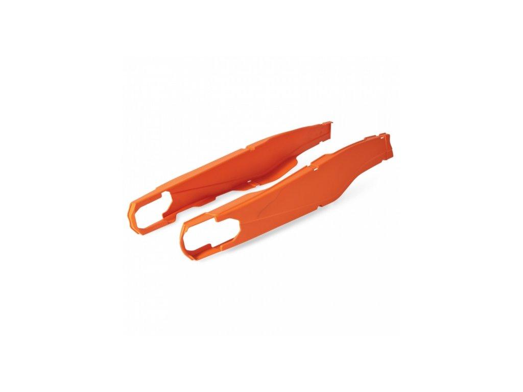 Kryt kyvné vidlice POLISPORT KTM, oranžový
