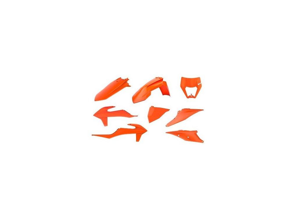Sada plastů Polisport KTM oranžová