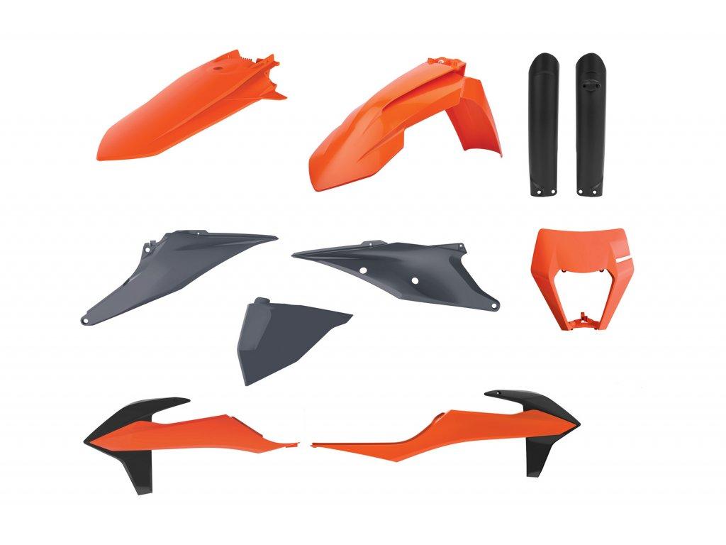 Sada plastů Polisport KTM barva OEM