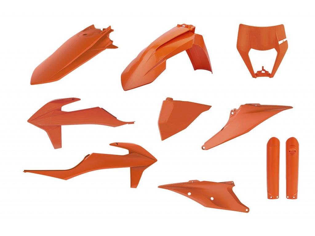 Sada plastů Polisport KTM barva ORK16