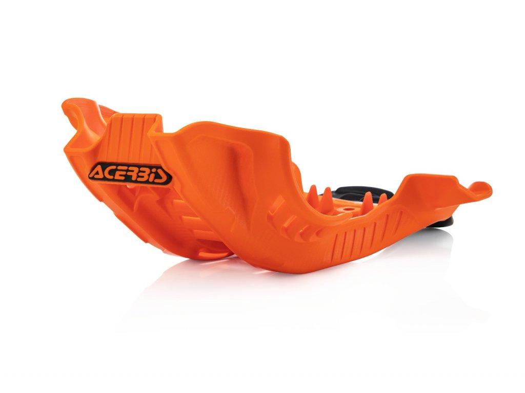 Kryt motoru a přepákování ACERBIS oranžovo-černý