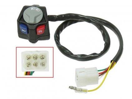 Přepínač Přepínač světel/houkačka/vypínač KTM/Husqvarna/Husaberg replika