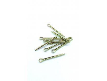 Závlačka čepu stupačky 2.0x20 mm 1ks