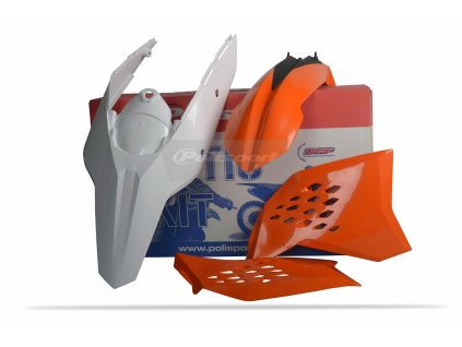 Sada plastů Polisport KTM OEM (11) barva KTM