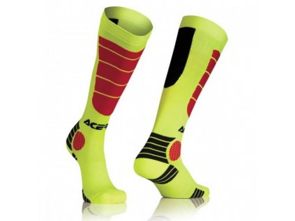 Acerbis MX Impact ponožky yellow/red, S/M