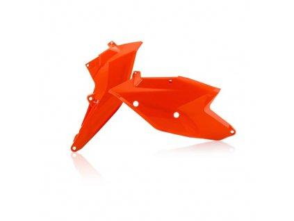 Podsedlové tabulky Acerbis KTM oranžová