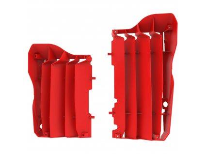 Mřížky chladičů Polisport Honda, červené
