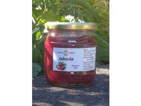 Jahodový džem z bio j. 400 g