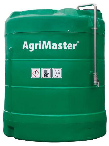 Skladování hnojiva DAM 390 a jiných kapalných hnojiv přímo na farmě.