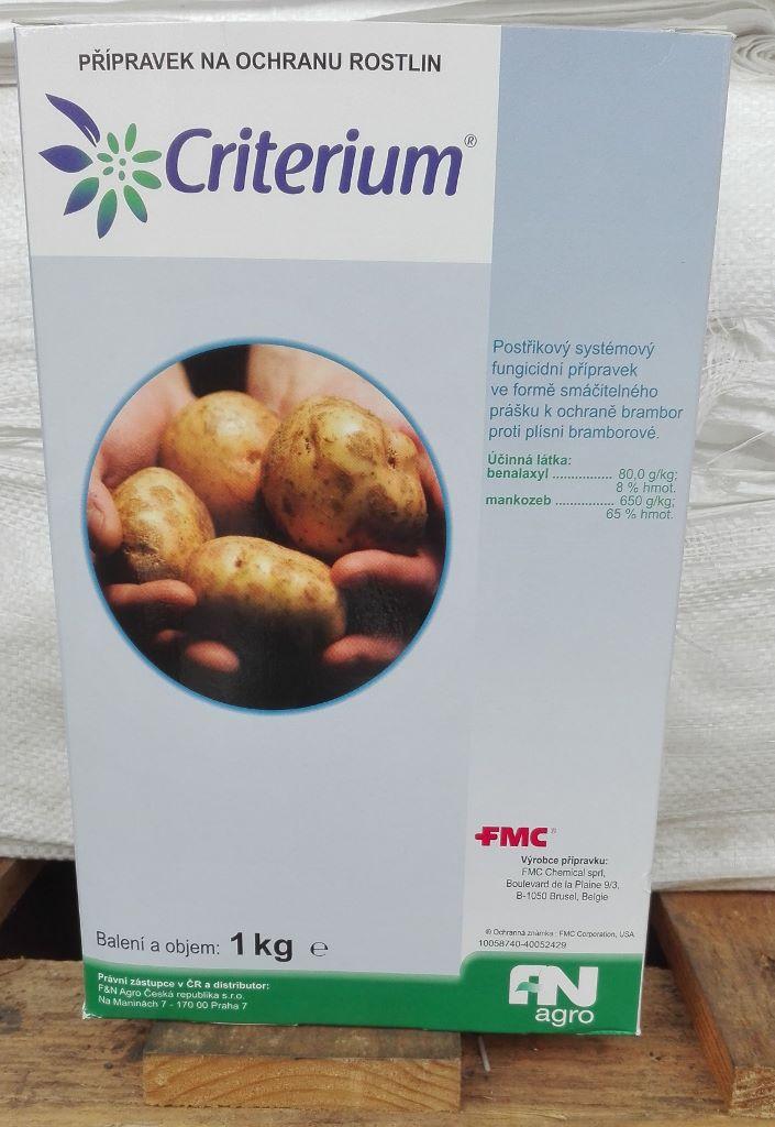 Přípravky proti mandelince a plísni bramboru
