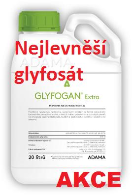 Neselektivní herbicid Adama Glyfogan