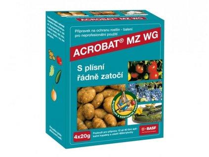 ACROBAT MZ WG 4x20 g - plíseň brambor, rajčat, okurek