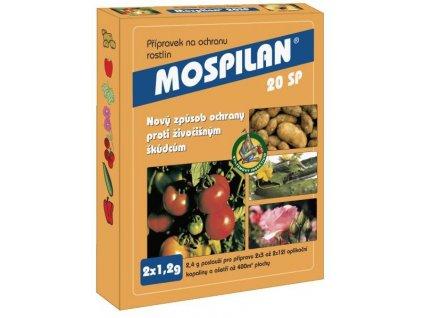 MOSPILAN 20 SP 2x1,2 g - mšice, molice, vlnatka, obaleč