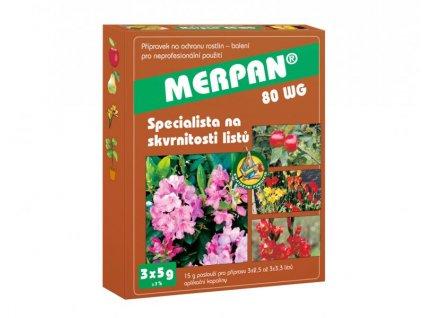 MERPAN 80 WG (3x5 g) - náhrada fundazolu