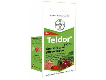 TELDOR 500 SC 8 ml - plíseň šedá na jahodách, révě
