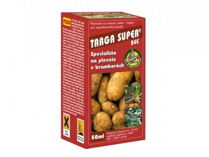 Targa Super 5 EC 50 ml - pýr a trávy v bramborech, řepě, cibuli a česneku