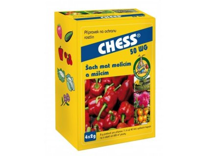 Chess 2 x 2 g - proti mšicím a molicím
