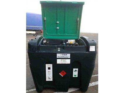 Mobilní nádrže na naftu TM 900, 12 V, digi průtokoměr
