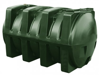 Jednoplášťová nádrž na topný olej 2500 litrů