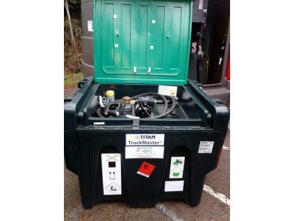 Nádrž TM 430 l, 230 V, průtokoměr K 24 - výstavní