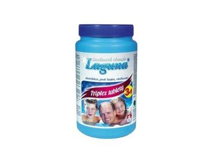 Laguna Triplex tablety 1 kg - desinfekce bazénové vody