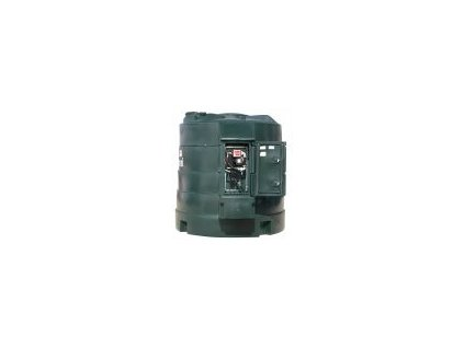 Nadzemní dvouplášťová nádrž Fuel Master®  5000 l digi průtokoměr + Euro přípojka