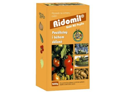RIDOMIL GOLD MZ PEPITE 3x5 g plíseň brambory