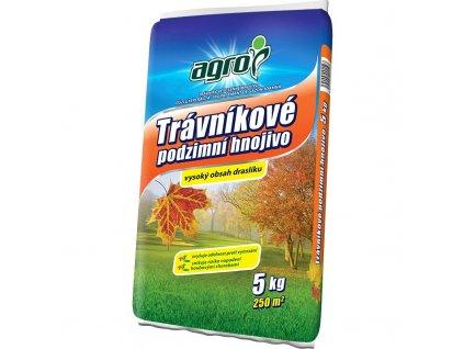 Podzimní trávníkové hnojivo agro 5 kg