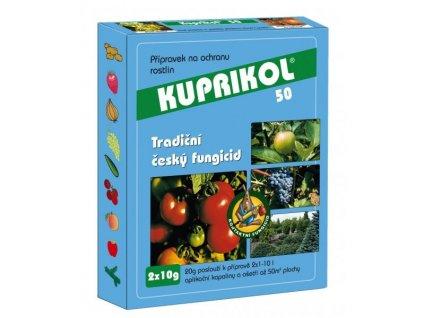 KUPRIKOL 50 - 10 g plísně na bramborech, rajčatech, okurkách, cibuli, révě