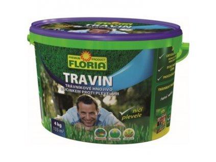 TRAVIN 4 kg - hnojivo proti plevelům