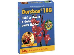 Dursban 10 G (2x15 g) - proti drátovcům -   ukončen prodej - konec registrace