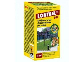 LONTREL 8 ml - odolné dvouděložné plevele v jahodách, trávnících