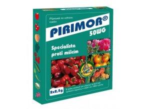 Pirimor 50 WG (2x2,5 g) - mšice okrasné rostliny, rajčatech, brukvovitá zelenina