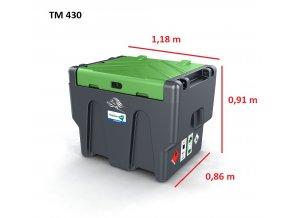 TM 430 nafta rozmery