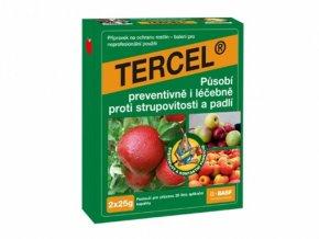 TERCEL (2×25 g) - působí proti strupovitosti, padlí jádrovin