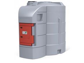 Dvouplášťová nádrž na naftu FuelMaster® 9000 l s terminálem XTrack