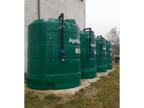 AgriMaster nádrž na hnojivo DAM - 9000 l PP