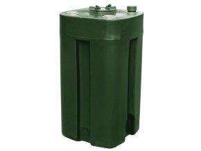 Jednoplášťová nádrž na topný olej 200 litrů