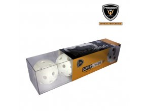 438 florbalovy micek precision super league white box 3 ks