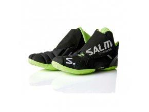 vyr 213salming slide 4 goalie shoe black gecko green 44 eur