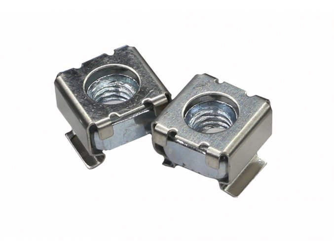 CAYMON KM600 M6 cage nut for 0.5 - 2.0 mm plate thickness
