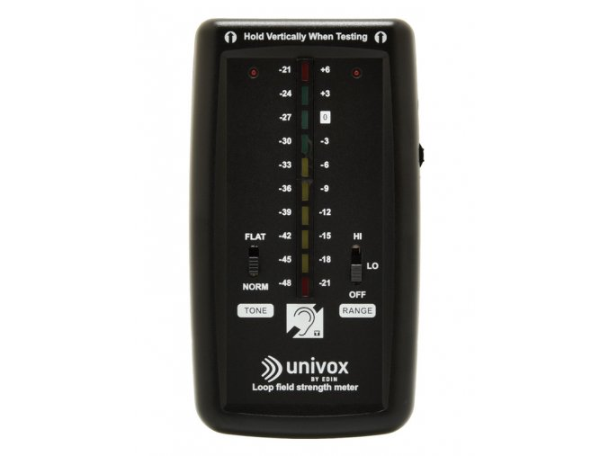 Univox FSM Basic Ruční měřič síly pole indukční smyčky, rozsah 54dB
