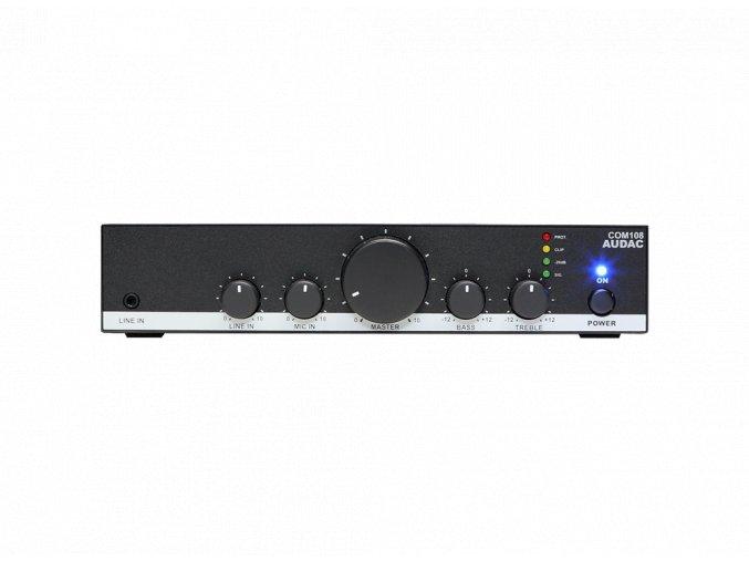 AUDAC COM108 Mixážní zesilovač 80W @ 100V nebo 4 ohmy