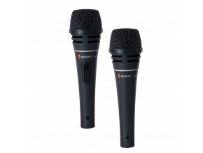 AUDAC M87 Profesionální vokální dynamický drátový mikrofon s vypínačem