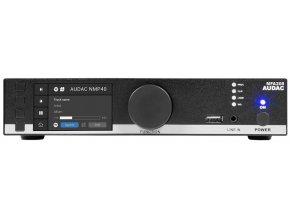 AUDAC MFA208 Mixážní zesilovač 2x40W @ 4Ohm / 1x80W @ 100V s DSP procesorem