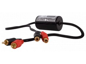 AUDAC TR2050 Stereo groundloop isolator RCA male, RCA female