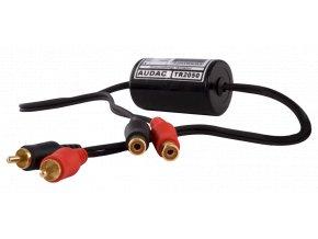 AUDAC TR2050 Stereo groundloop isolator RCA male, RCA female