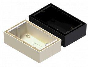 AUDAC WB50/B Nástěnná krabice na povrch, černá