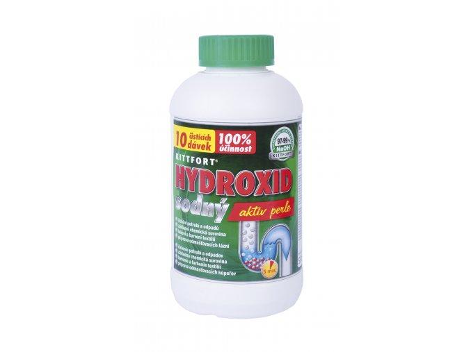 Hydroxid sodný 500g perle ver2019